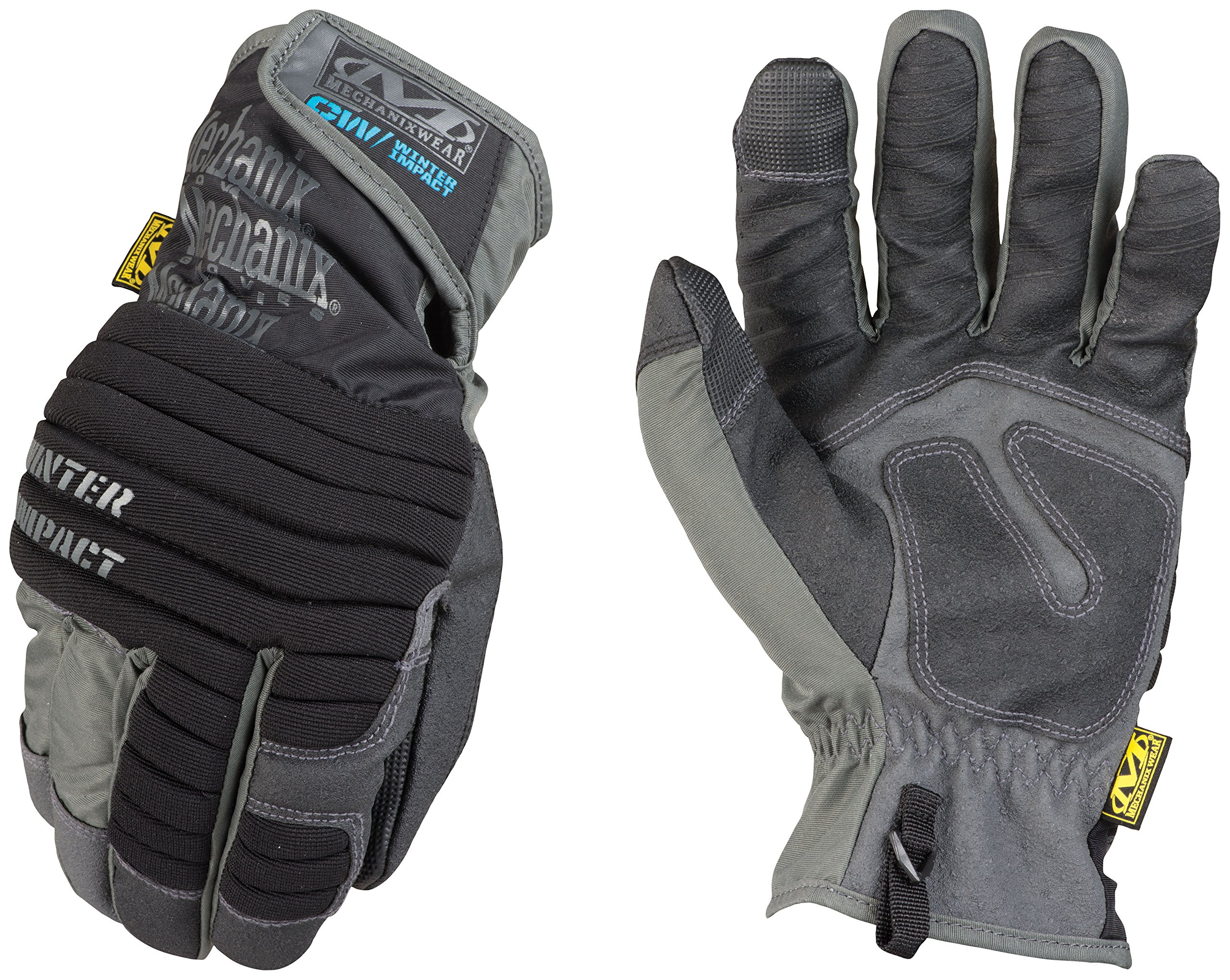 Mechanix Wear - Winter Impact Touch Screen Gloves (X-Large, Black)