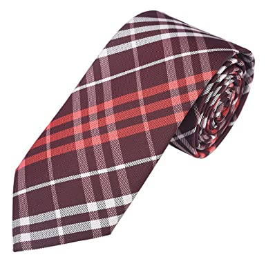 b0680f6b2fb9 Exotica Fashion 100% Micro Silk Poly Cotton New Neck Tie in Red Color For  Men s at Party or Casual Wear  Amazon.in  Clothing   Accessories