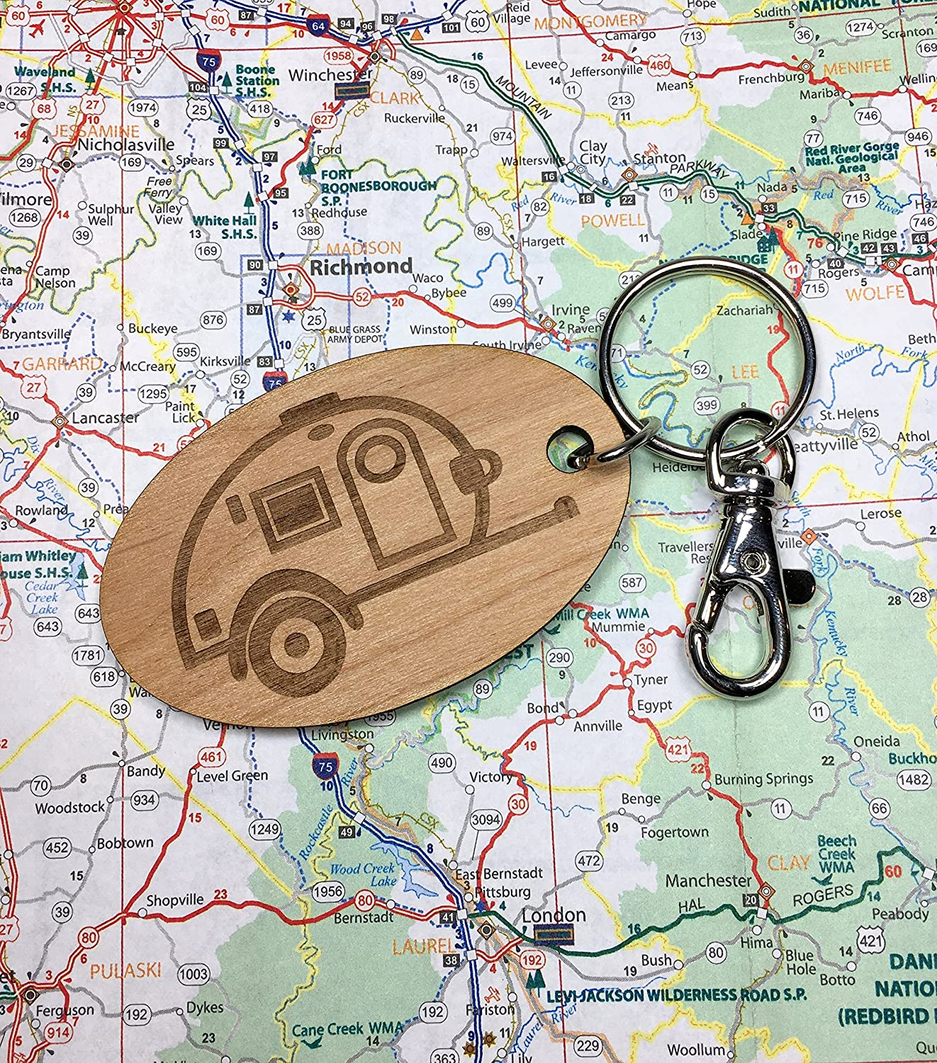 Teardrop Travel Trailer Key Fob