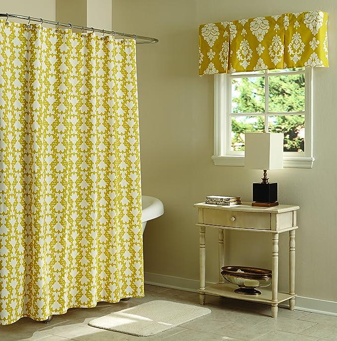 Amazon Split P Janette Loop Shower Curtain Home Kitchen