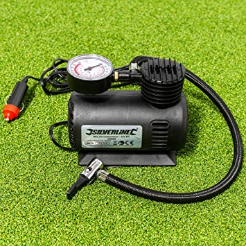 Net World Sports Electric Football Ball Pump (12v) electric pump, hose, and