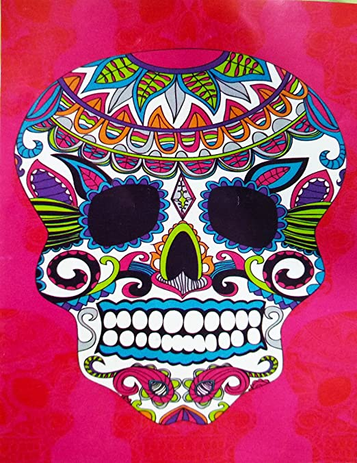 Regalitostv Day of The Dead* Toalla Playa Grande 95 X 175 CM Tacto ...