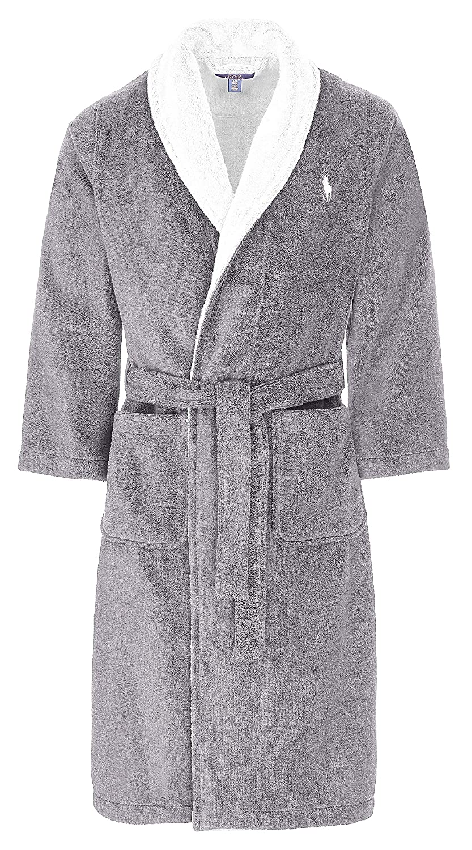 f4b6d1edb4 Ralph Lauren Polo Terry Cloth Robe Housecoat Sauna Coat  Amazon.co.uk   Clothing