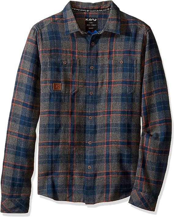 KAVU Mens Big Joe Long Sleeve Shirt KAVU-Outdoors 510