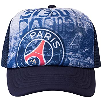 55dc69487b3e0 Casquette PSG - Collection officielle Paris Saint Germain - Taille adulte  réglable