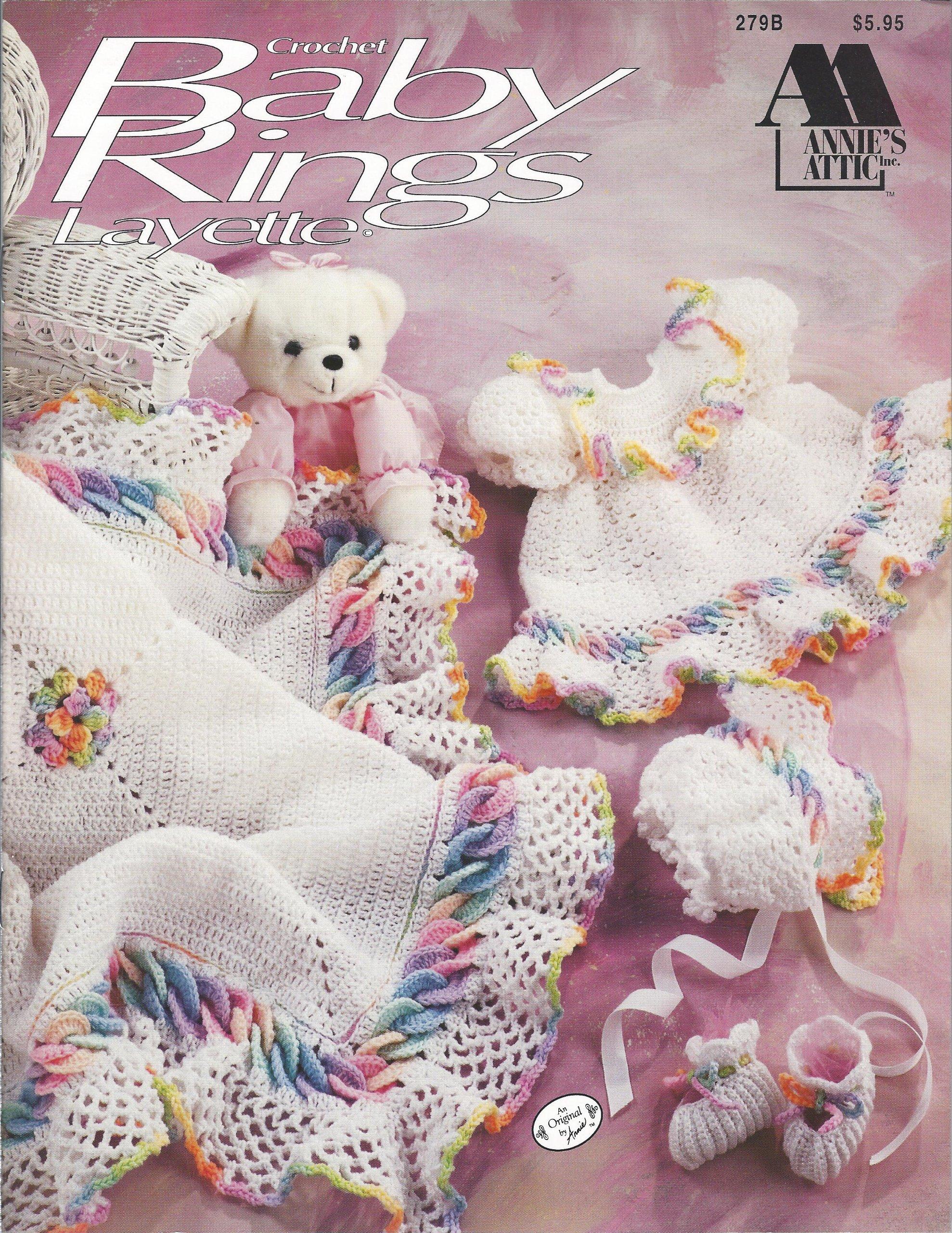 Baby Rings Layette Crochet 279b Annie Potter Amazon Books