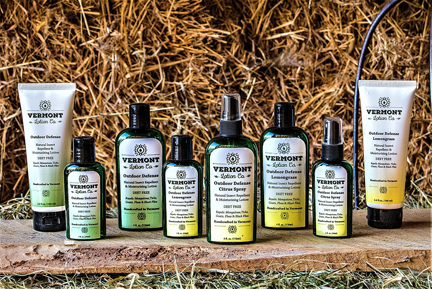 Amazon.com : Vermont Lotion Company All Natural Insect Repellent ...
