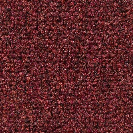 Teppichboden Auslegware verschiedene Gr/ö/ßen anthrazit schwarz Meterware 400 und 500 cm Breite Gr/ö/ße: 1 Muster B/üro Schlinge gemustert