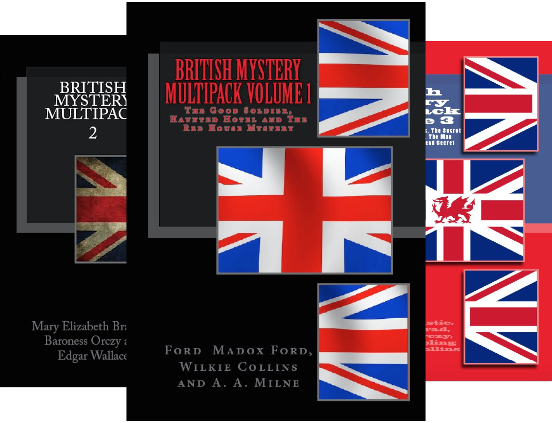 British Mystery Multipack (16 Book Series)