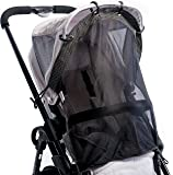 Sun Shade for Strollers and Car Seats (Regular Size). Universal Adjustable SPF 30+ Sunshade with See Through. Your Baby Will See the World and Will Be Protected.. by IntiMom