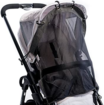 Sun Shade For Strollers And Car Seats Regular Size Universal Adjustable SPF 30