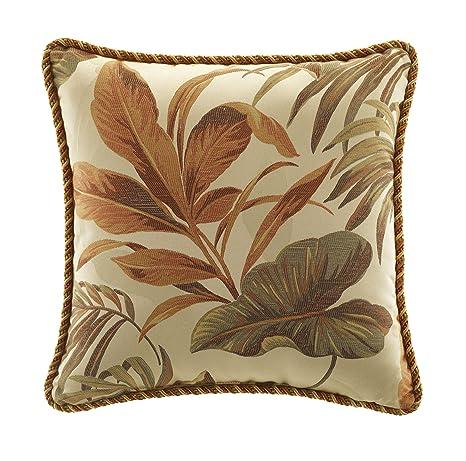 Amazon.com: croscill Home Fashions cosecha almohada de Bali ...