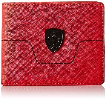 6ca9ab6a4c33d Puma Rosso Corsa Men s Wallet (7420902)  Amazon.in  Bags