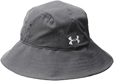 promo code b84ae c8b03 Amazon.com  Under Armour Men s Warrior Bucket Hat, Desert Sand (290) Black,  One Size  Clothing