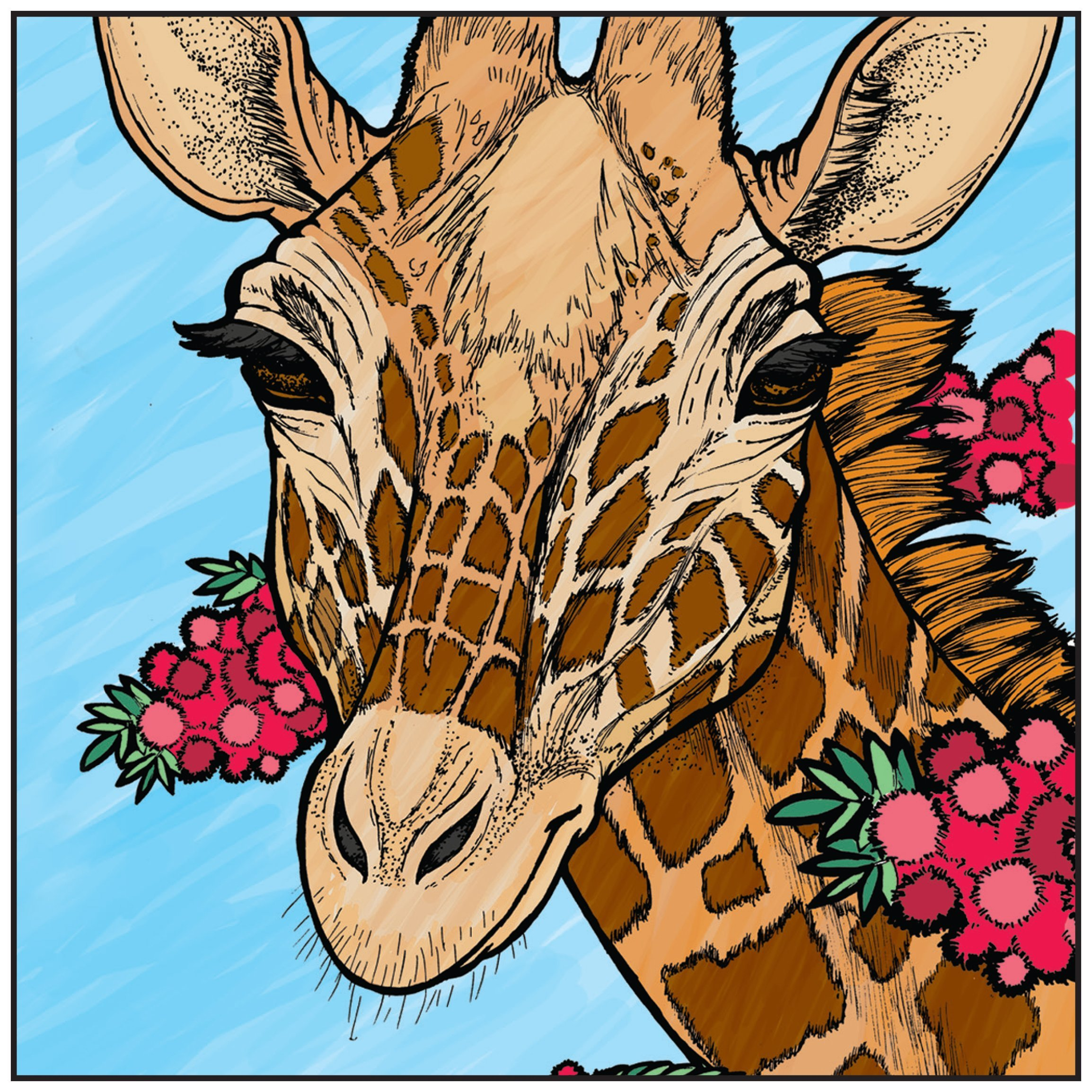Amazon.com: Nature\'s Wonders Animal Adult Coloring Book With Bonus ...