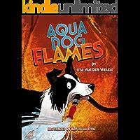 Aqua Dog Flames