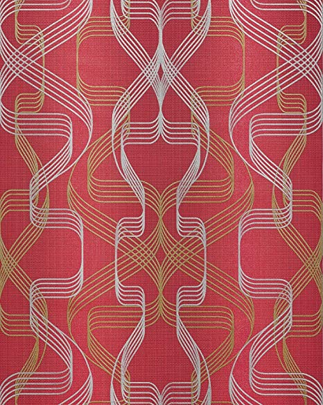 Graphic Wallpaper Wall EDEM 507 24 Blown Vinyl Textured With Abstract Pattern And
