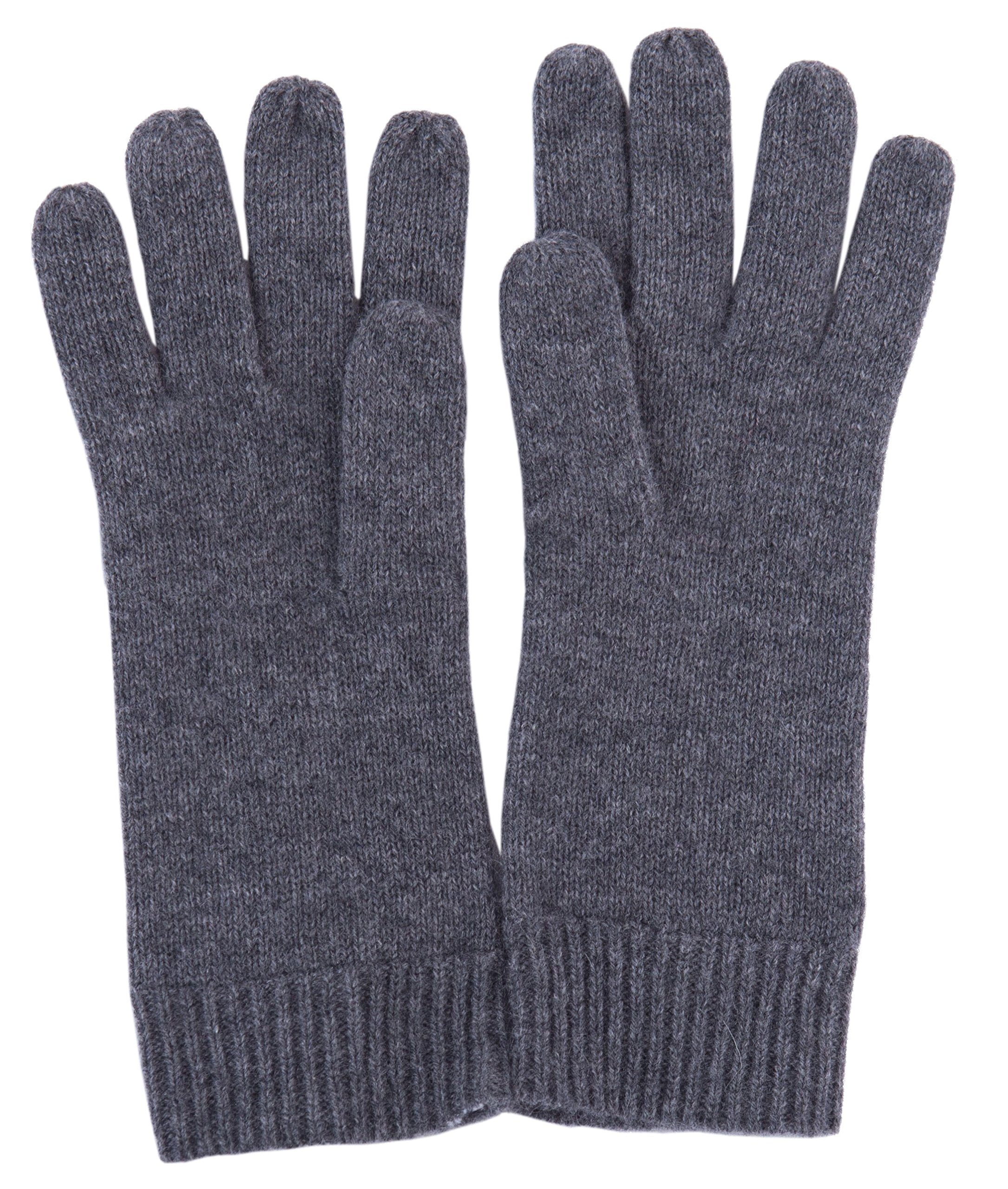LEBAC Women's Cashmere Mitten Gloves with Ribbed cuffs