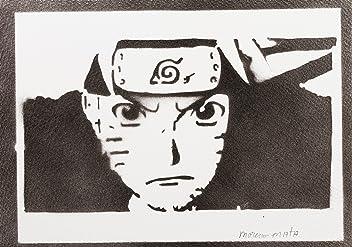 Naruto Handmade Street Art - Artwork - Poster