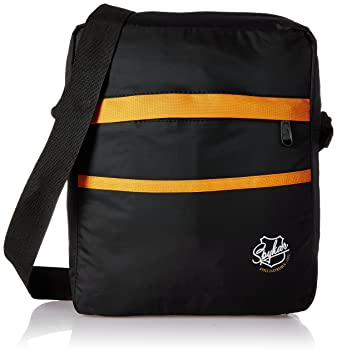 Spykar Synthetic 31 cms Black Messenger Bag (SPY BG 2AF06)  Amazon.in  Bags b9cb73e6e92aa
