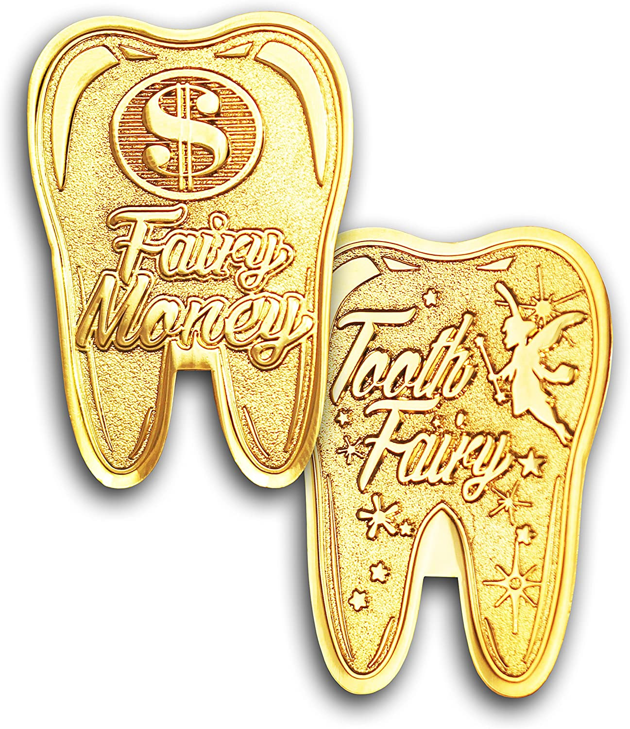 Ycncixwd Tooth Fairy Commemorative Coin Collection Gift Souvenir for Chlidren Gift