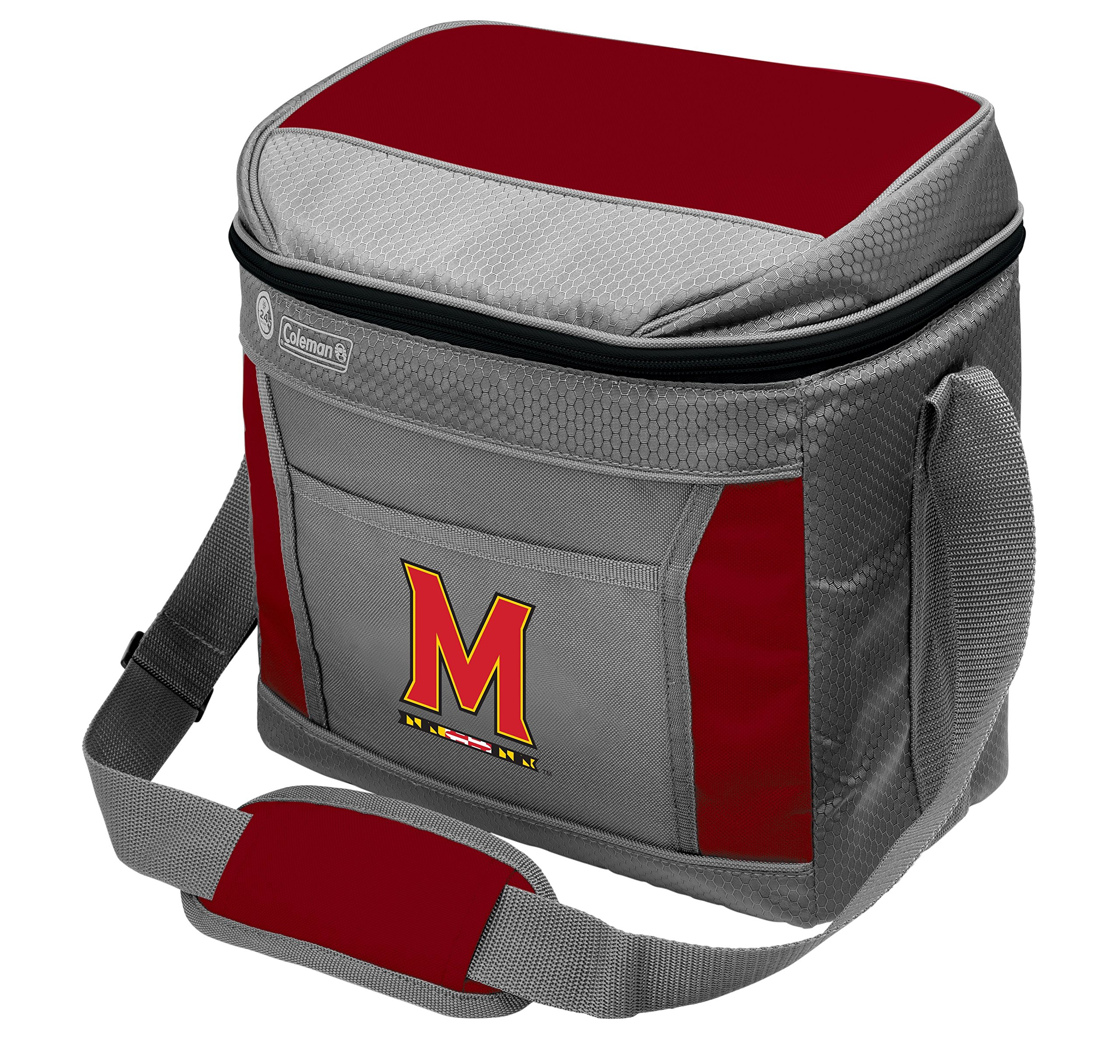 Coleman NCAA Soft-Sided Insulated Cooler Bag, 16-Can Capacity, University of Maryland