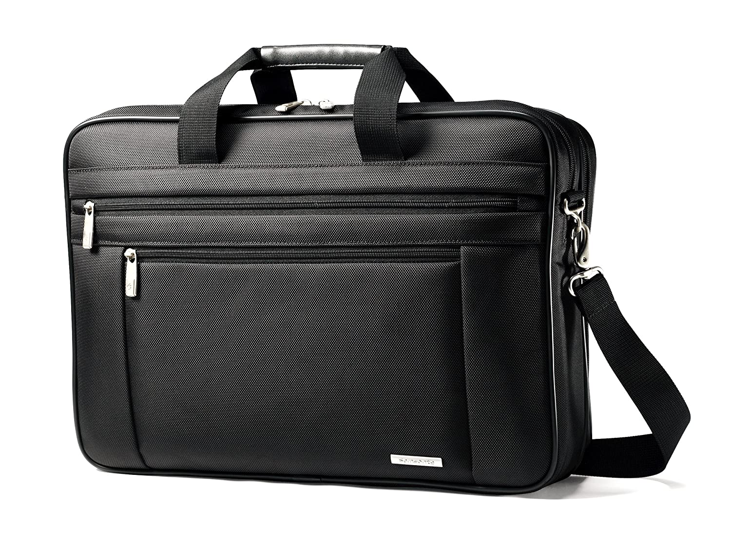 "Samsonite Classic Business Laptop Bag - 17"" Black"