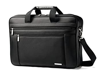 Image Unavailable. Image not available for. Color  Samsonite Classic  Business Laptop Bag - 17 quot  Black 5b9c722726645
