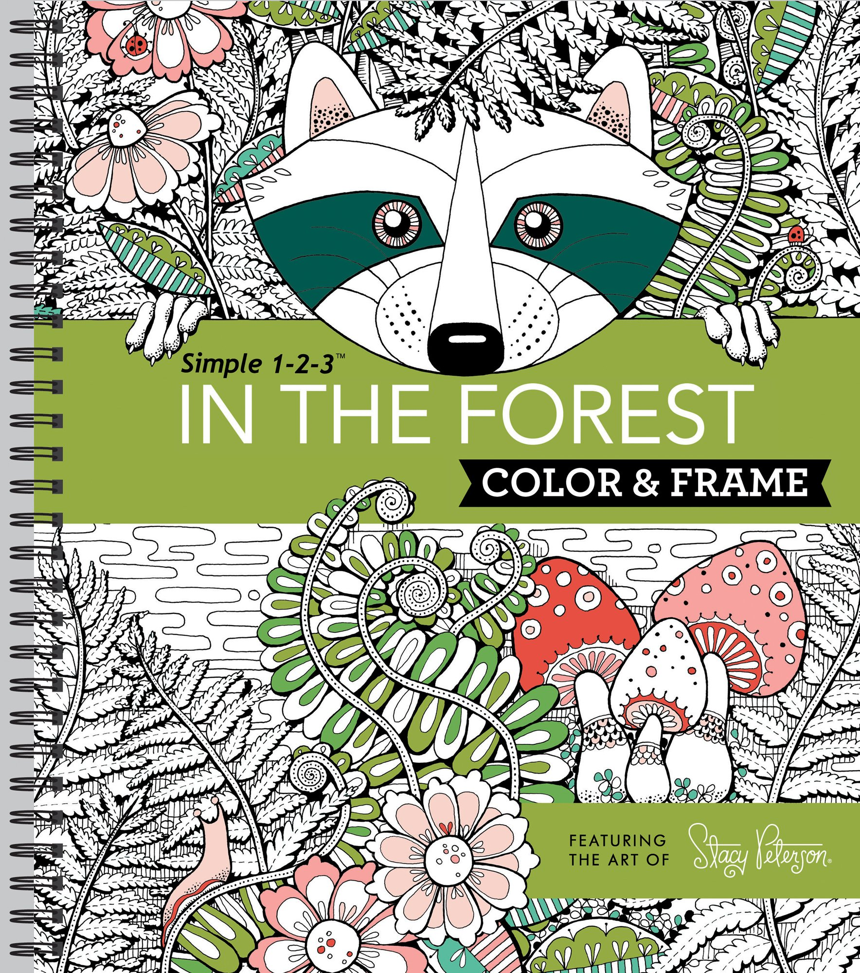 Color & Frame – In the Forest (Adult Coloring Book)