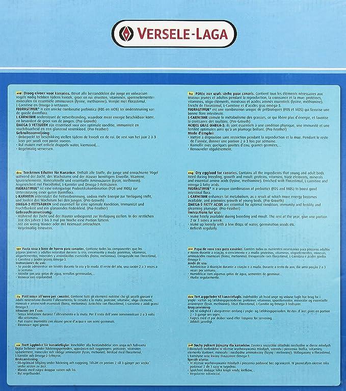 Amazon.com : Versele Laga Orlux Vl Orlux Canary Dry Eggfood 5Kg : Pet Food : Pet Supplies