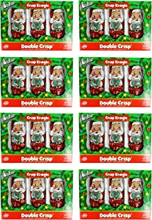 product image for Set of 8 Boxes of Chocolate Crisp Kringles! Double Crisp Chocolate Santas! (8 Boxes)