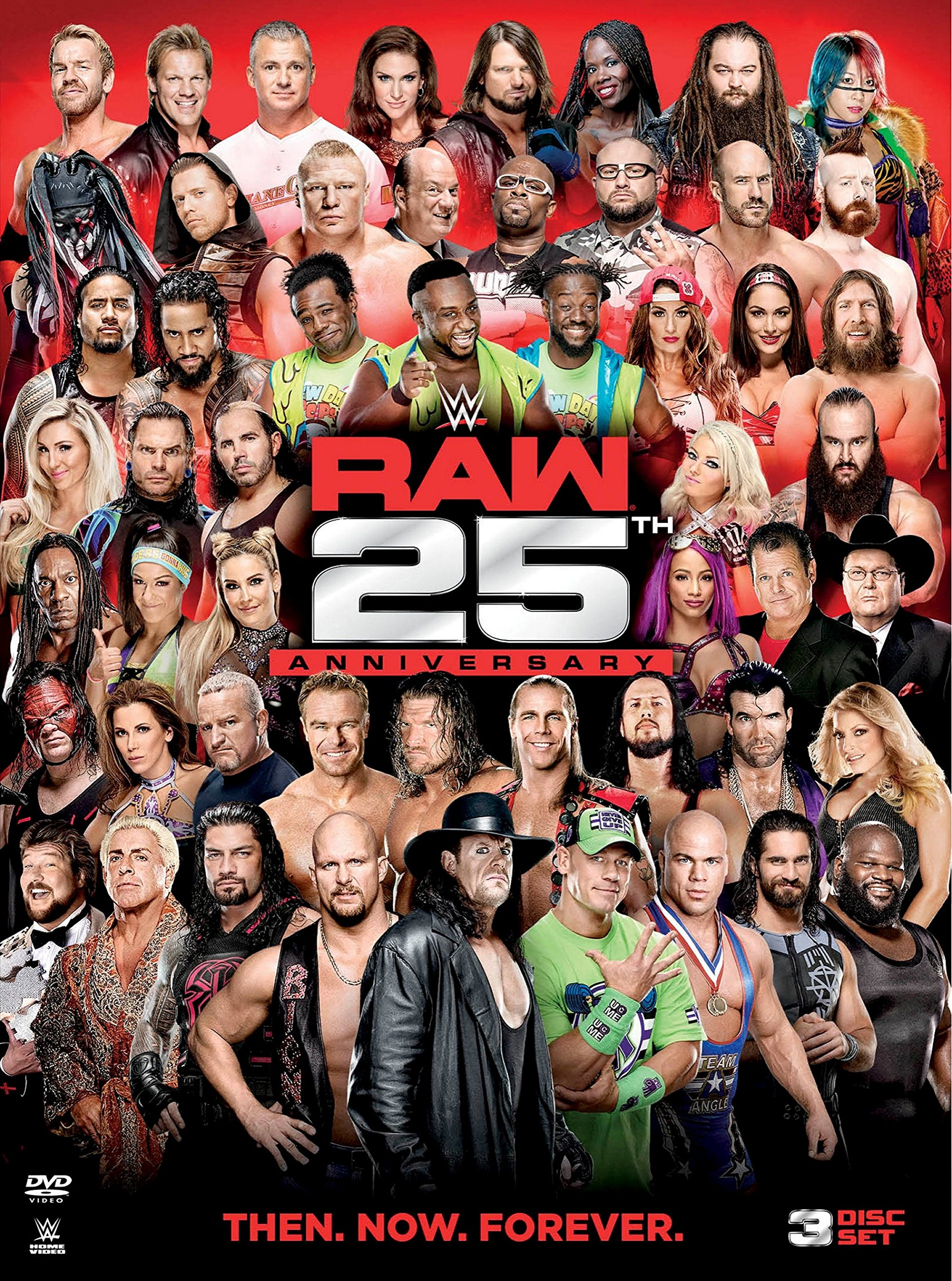 Book Cover: WWE: Raw 25th Anniversary
