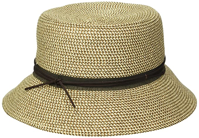 c370bf1e15403b Nine West Women's Packable Microbrim, brown combo one size at Amazon ...