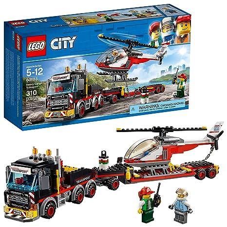 Amazon Com Lego City Heavy Cargo Transport 60183 Building Kit 310