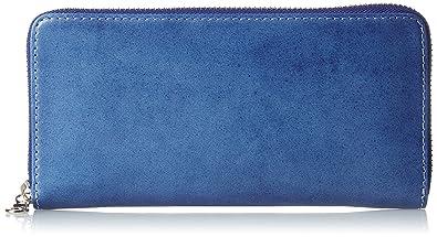 innovative design 86e67 60dc4 Amazon   [バギーポート] 長財布 藍染レザー ブルー   財布