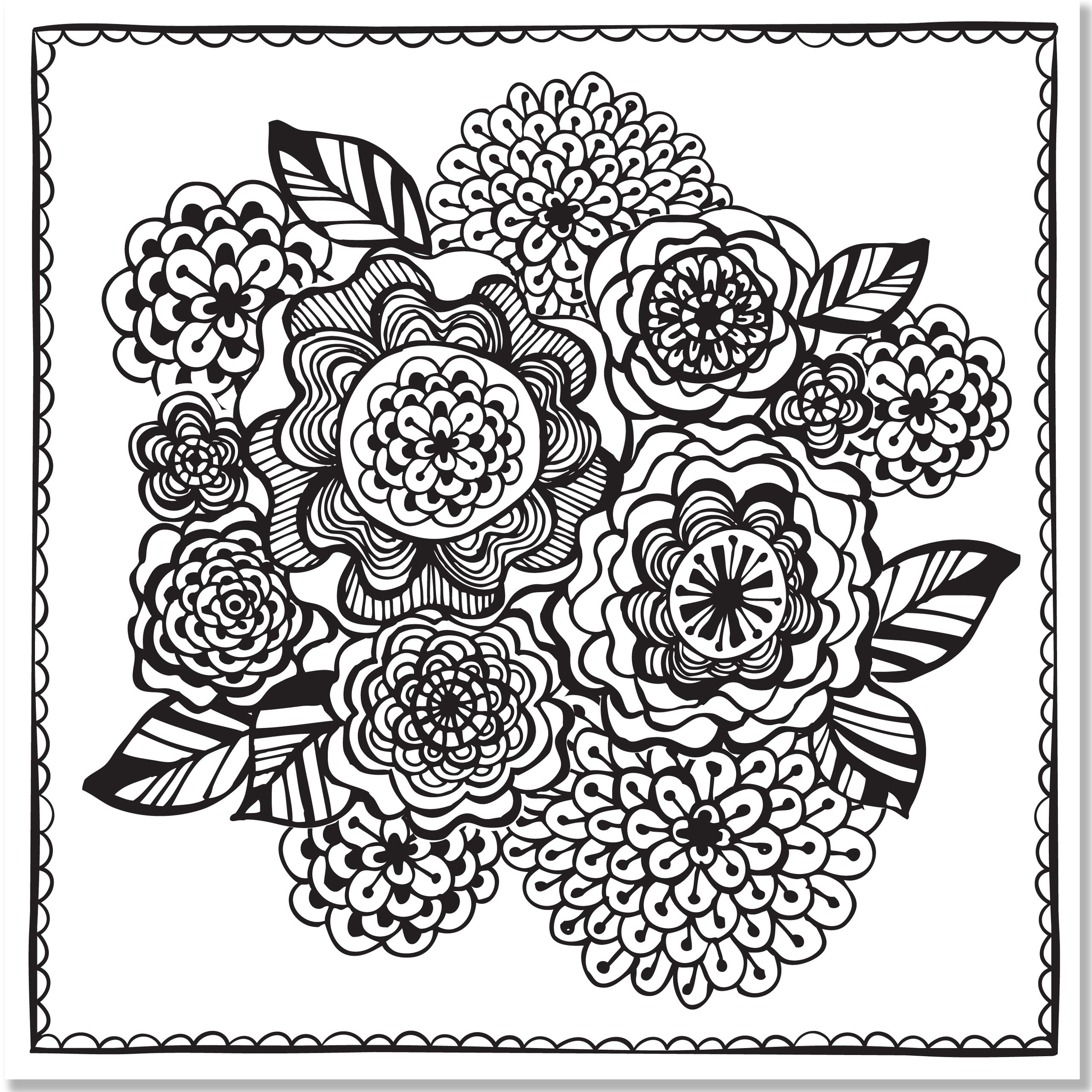 Amazon Joyful Designs Adult Coloring Book stress