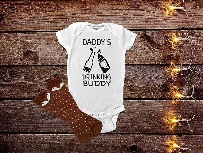 0e34feb5f Daddy's Drinking Buddy Onesie®, Funny Baby Onesies®, Funny Baby Clothes, Baby  Boy Clothes, Baby Shower Gift, Funny Baby Gift, Baby Girl Clothes, Baby Boy  ...