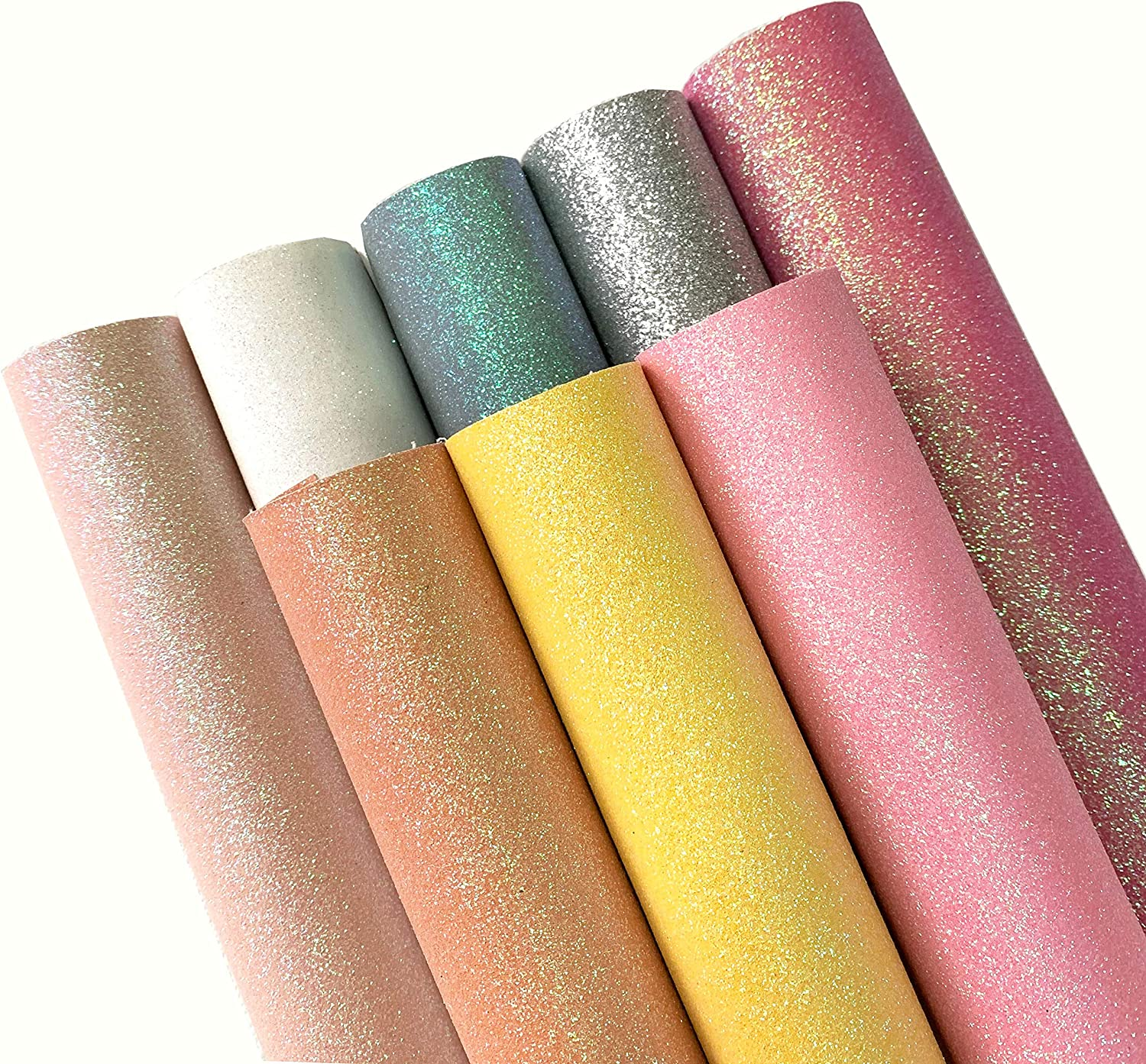Glitter unicorn fabric sheet A4 perfect for hair bows and crafting