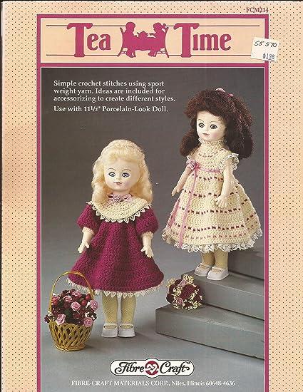 Amazon Tea Time Dress For 11 12 Doll Fibre Craft Crochet
