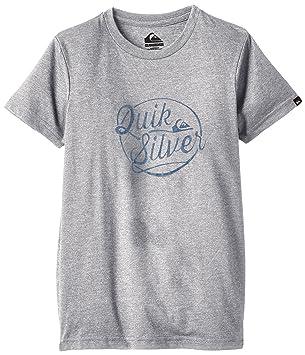 Quiksilver goteam camiseta de manga, Niños, color Off-white - Athletic Heather, tamaño 140: Quiksilver: Amazon.es: Deportes y aire libre