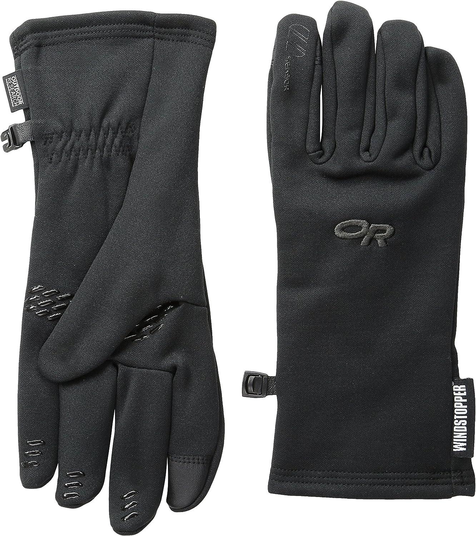 Outdoor Research Men's Backstop Sensor Gloves - Windproof Thermal Fleece Gear