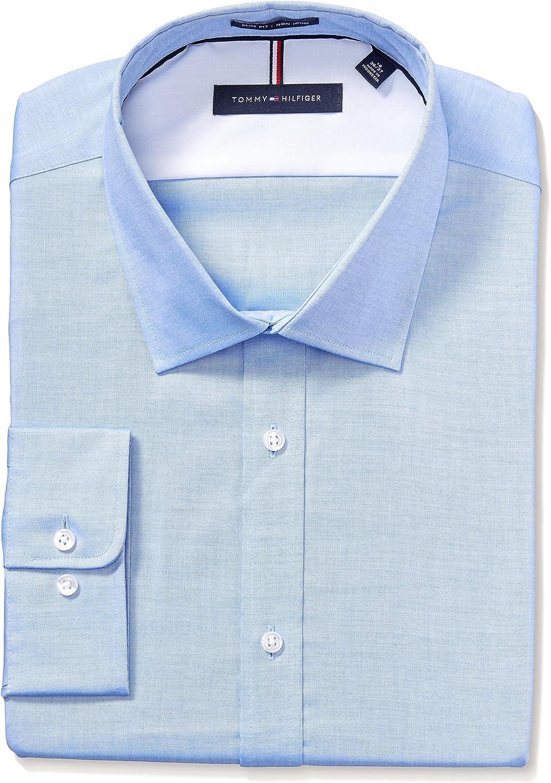 Details about  /Tommy Hilfiger Men/'s Dress Shirt Regular Fit Stret Choose SZ//color