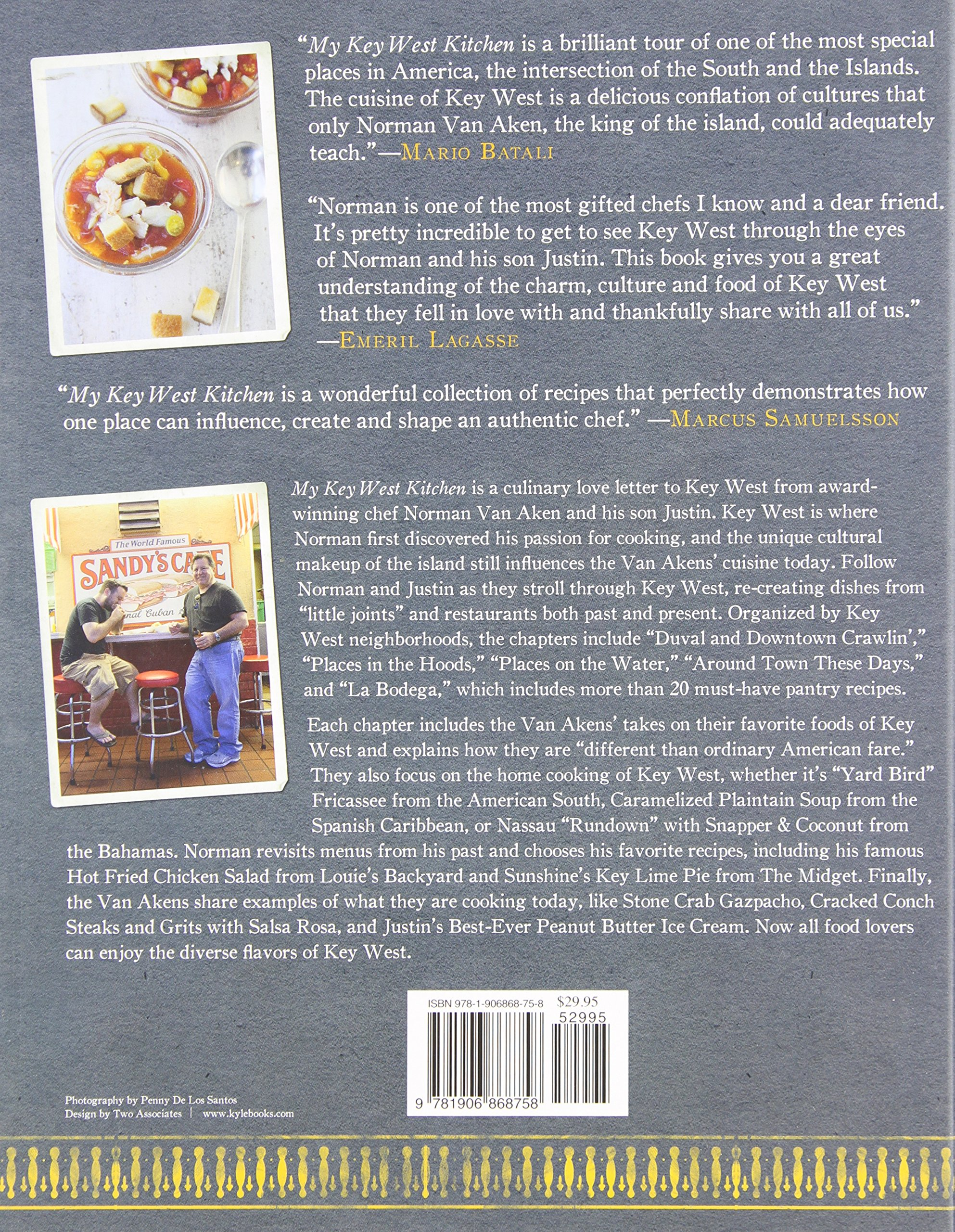 My Key West Kitchen: Recipes and Stories: Norman Van Aken, Justin ...