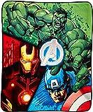 "Marvel Avengers 2 Plush 50"" x 60"" Throw"