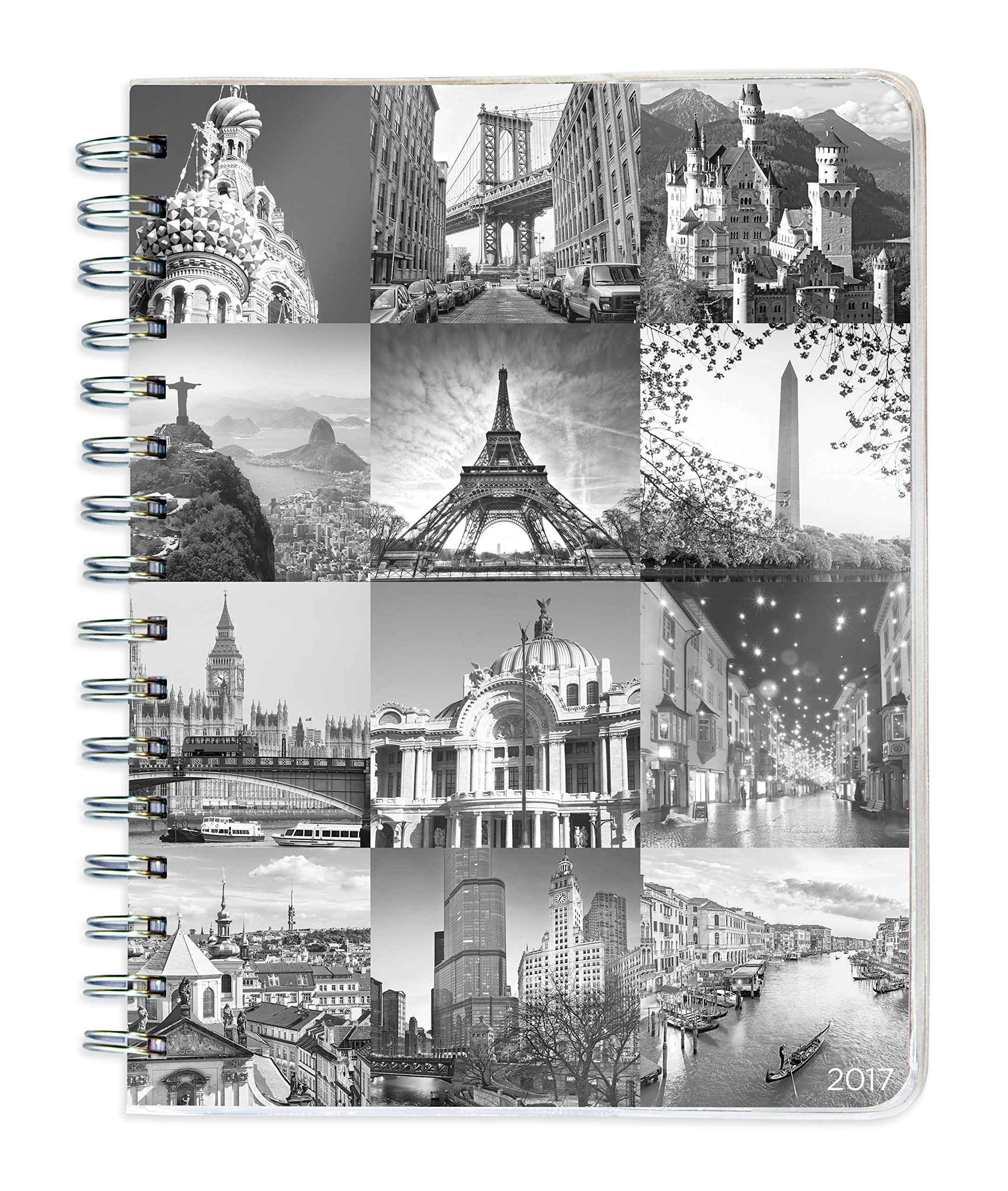 Around World Spiral Engagement Planner product image