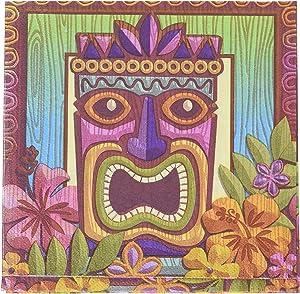 AmscanTropical Tiki Party Luncheon Napkins, 7