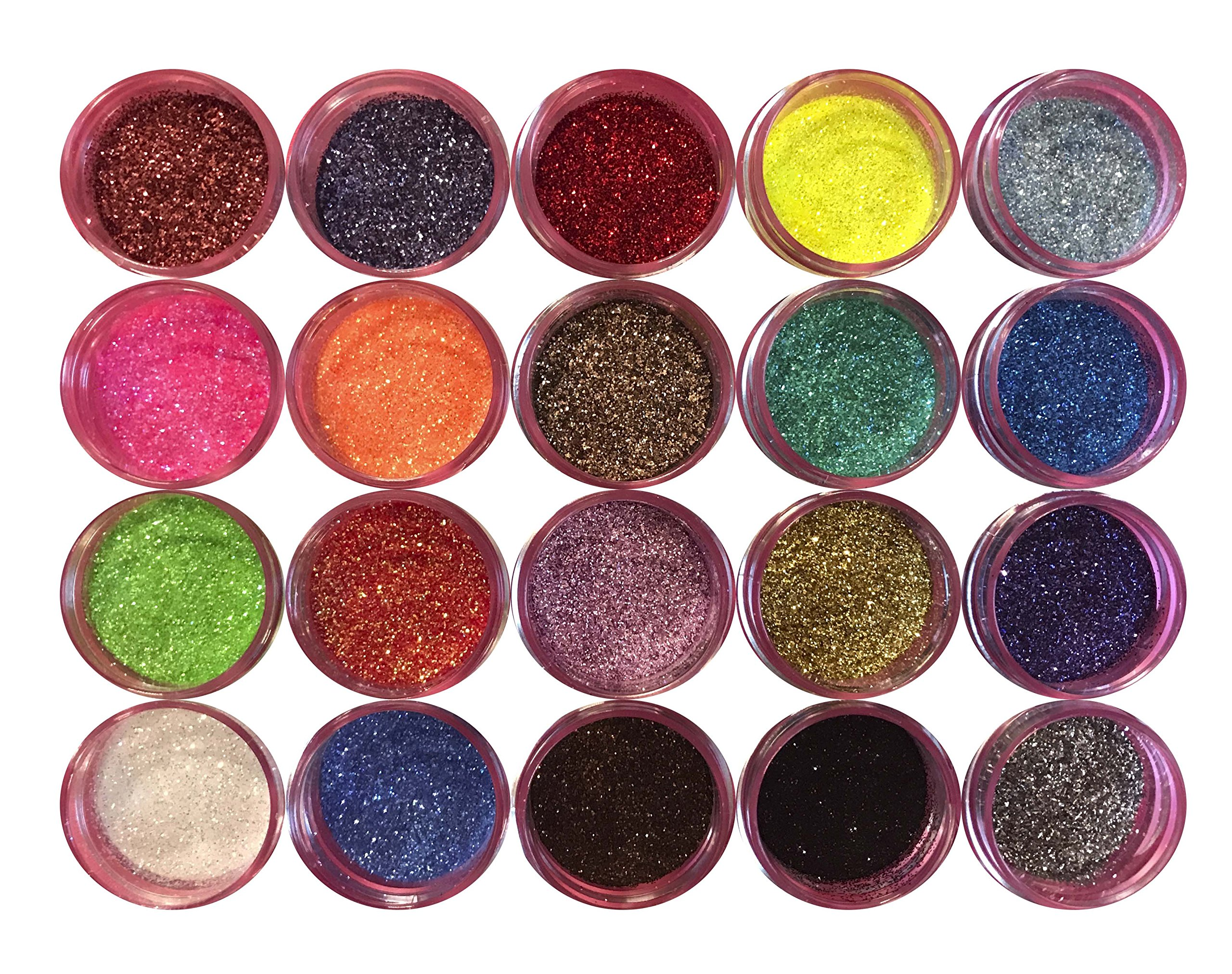 Disco Cake MULTICOLOR SET (20 colors) 5g each container, cakes, cupcakes, fondant, decorating, cake pops By Oh! Sweet Art