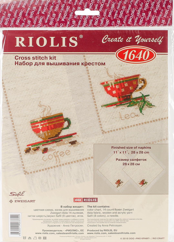 Counted Cross Stitch Kit RIOLIS COFFEE