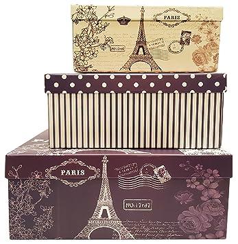 Amazon.com: Alef cajas de regalo de anidación con ...