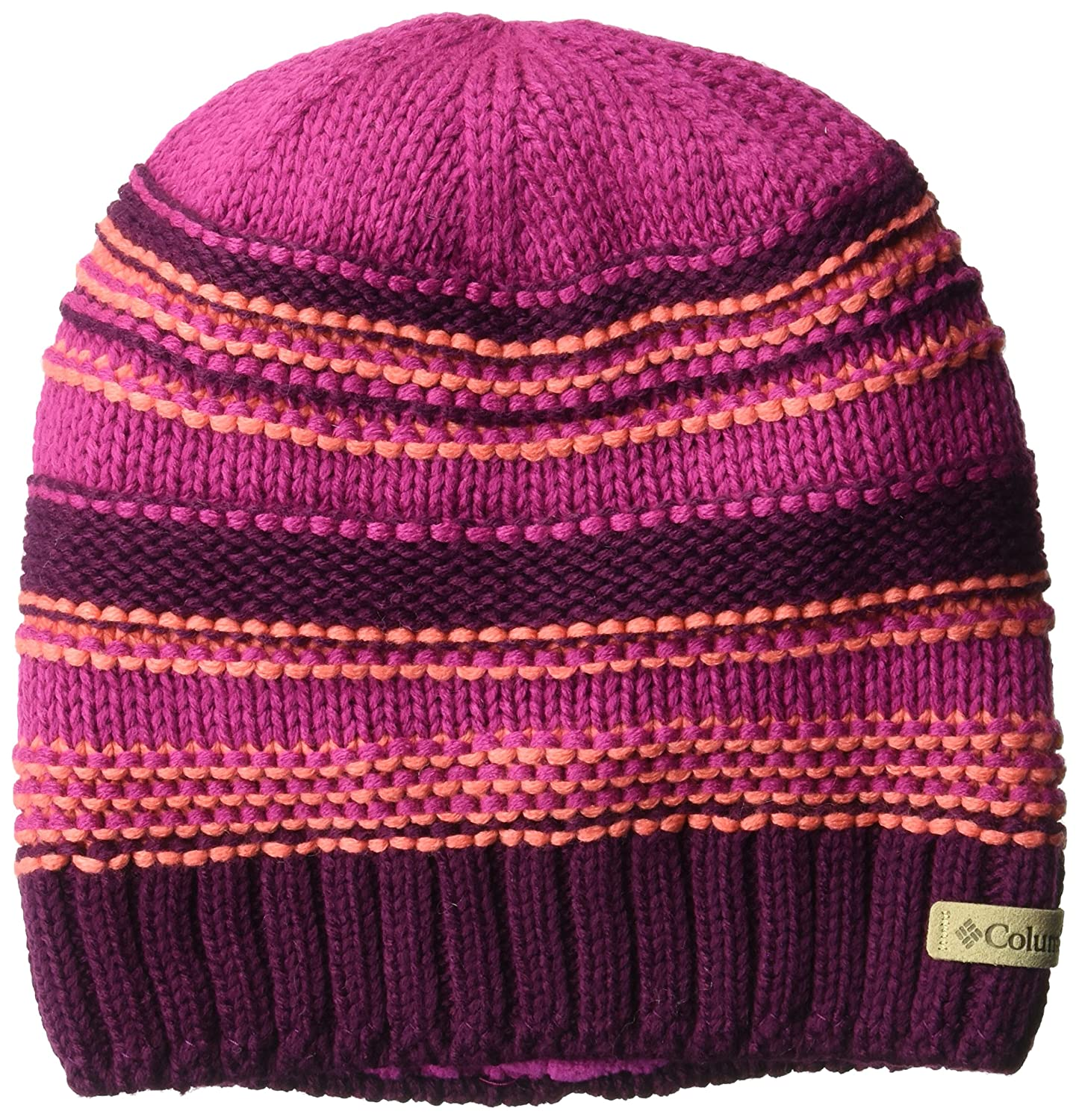 Columbia Girls' Big Gyroslope Beanie, Violet Haze One Size 1621911